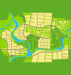 map of the city a seamless background vector image