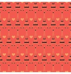 seamless Paris pattern vector image