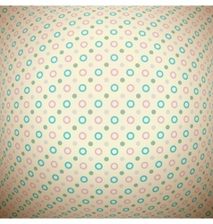 Retro dot seamless pattern tiling Endless texture vector image