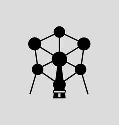 Atomium brussel vector