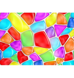 Background of colored stones vector