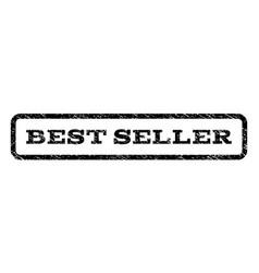 Best seller watermark stamp vector