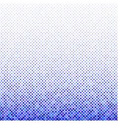 blue geometric circle pattern background vector image