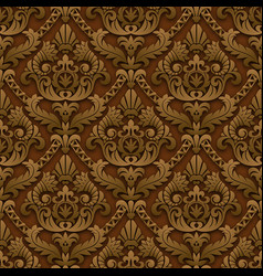 brown vintage background vector image