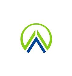 Business finance abstract construction logo vector