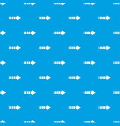 cursor pattern seamless blue vector image