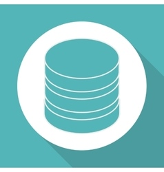 Data center icon design vector