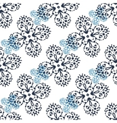 Print abstract symmetry pattern ink spalshes vector