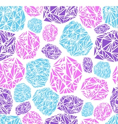 seamless pattern diamond vector image