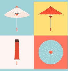 Traditional umbrella vector