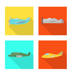 travel and airways icon vector image