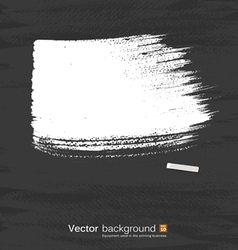 White pastel space for text on blackboard vector image vector image