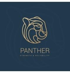 Puma royal emblem vector image