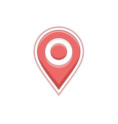 Geo map pin vector