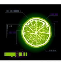 Lemon modern background vector