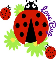 Love Bug vector