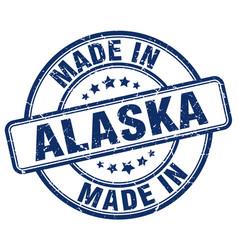 Made in alaska vector