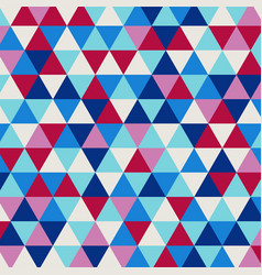 Multicolor geometric rumpled triangular low poly vector