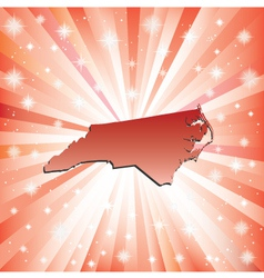 Red North Carolina vector