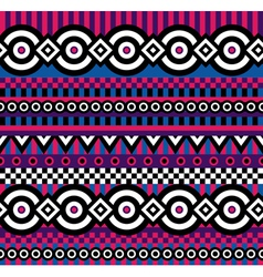 vivid pop art pattern vector image