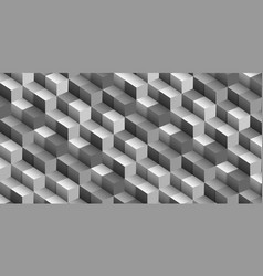 abstract geometric cube background optical vector image