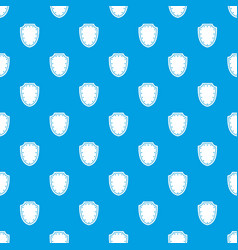 Army protective shield pattern seamless blue vector