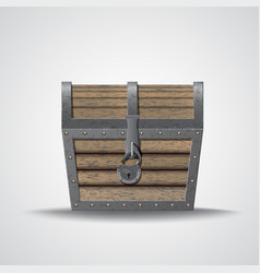 Flat of chest vector