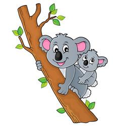Koala theme image 2 vector