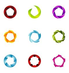 Logo design elements set 61 vector