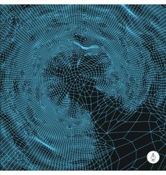 Network background 3d technology vector