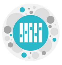 of mp3 symbol on sound vector image