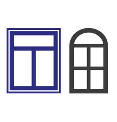 window icon on white background vector image