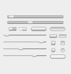 interface buttons web navigation buttons and vector image