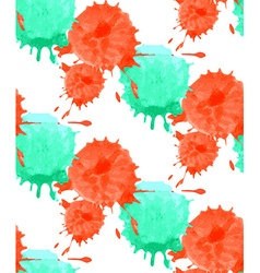 Watercolor dot pattern vector image