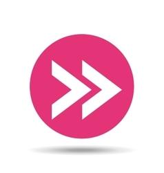arrow sign design vector image vector image