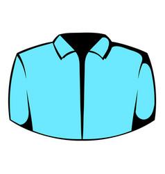 dress shirt icon icon cartoon vector image vector image