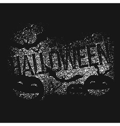 Halloween abstract logo Halloween party isolated vector image vector image