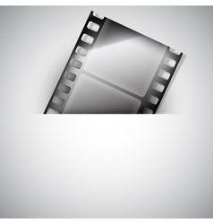 Movie background vector