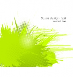 abstract paint splashes vector image vector image