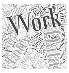 Shall I Work Data Entry Jobs Word Cloud Concept vector image