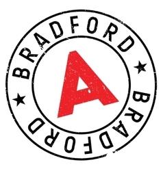 Bradford stamp rubber grunge vector