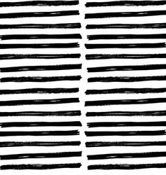 Hand drawn brush strockes seamless pattern vector image