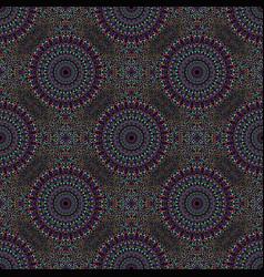 Multicolor abstract mandala mosaic pattern vector