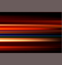 Red abstract speed motion blur night lights in vector
