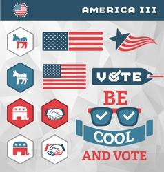 America III vector image
