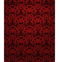 Seamless pattern red vector image vector image