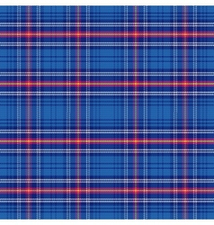 seamless pattern Scottish tartan Army vector image vector image