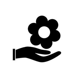 Beautiful flower plant vector image