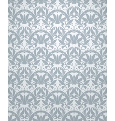 Seamless pattern grey vector image vector image