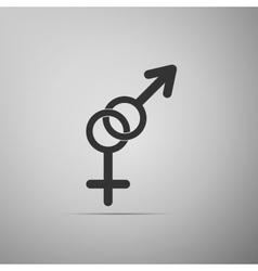 Gender symbol icon vector image vector image